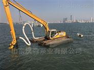 山東慶淼泵業液壓式耐磨礦用抽砂泵