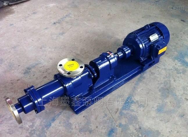 输送高粘度液体的螺杆泵