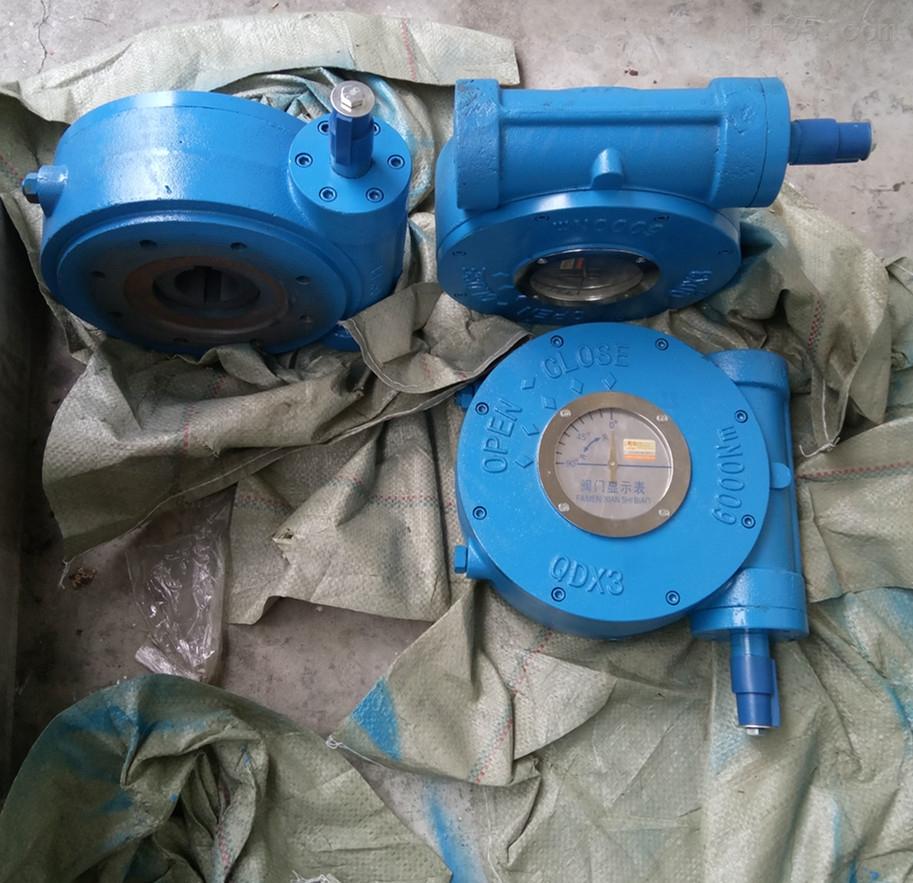 QDX3-9手动蜗轮执行器 QDX3电动涡轮执行器
