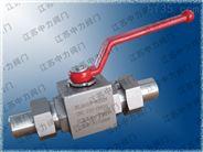 Q21N-350P高压不锈钢CNG球阀