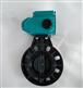 PVC蝶閥 D971S-10 DN300對夾式電動塑料蝶閥