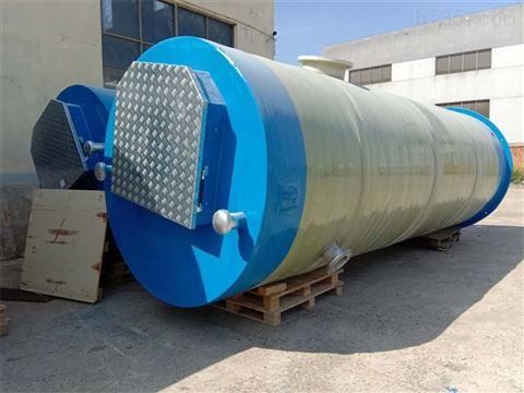 地埋式一體化預制泵站對環境的影響較小