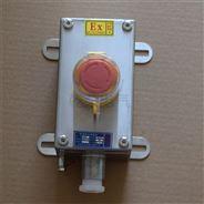 防爆按钮盒 自复位开关盒一位二三孔启停箱