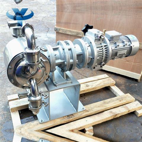 不锈钢无极调速电动隔膜泵