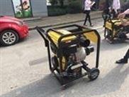 带轮子柴油机6寸抽水泵