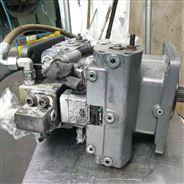 維修中聯泵車56米力士樂泵A4VG180
