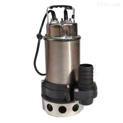 工地移动排水自动污水泵不锈钢