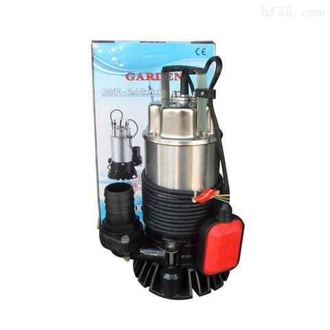防洪排排水家庭废水排放自动潜水泵