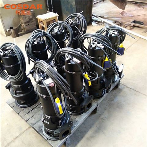 7.5KW无堵塞切割排污泵SMPE750-2M 铰刀泵