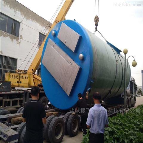 江蘇埋地式污水提升一體化泵站