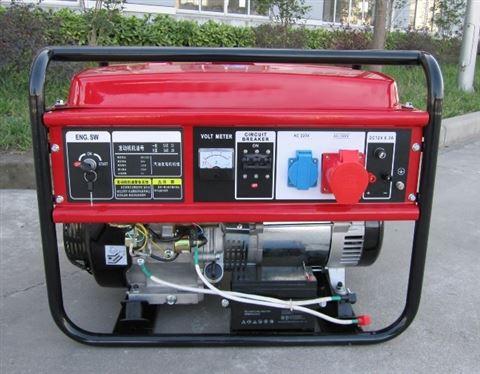 进口五个千瓦小型汽油发电机HS6500DC
