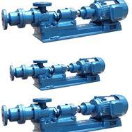 I-1B不锈钢单螺杆式浓浆泵厂家
