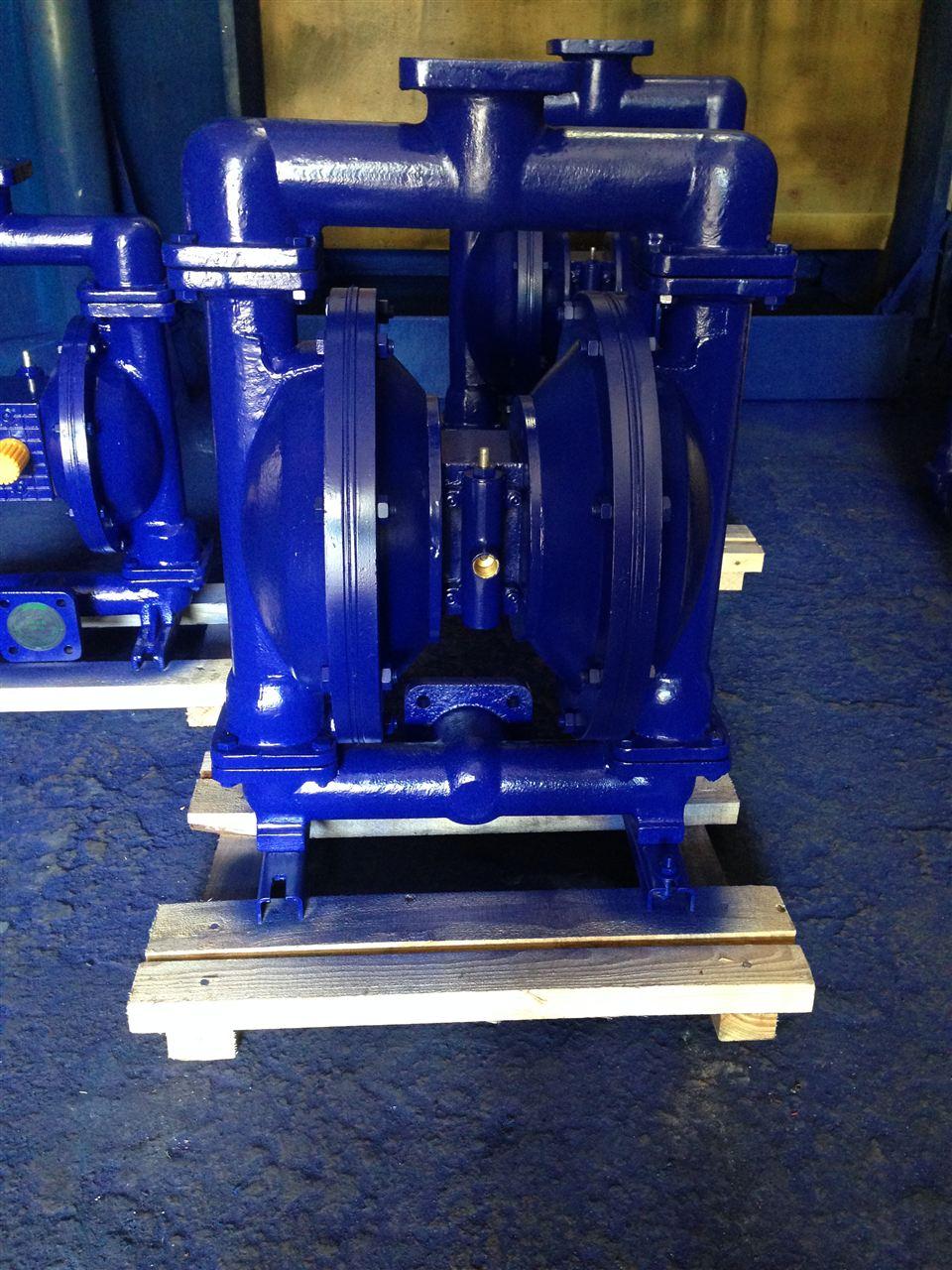气动隔膜泵维修图解